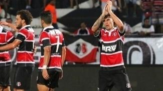 Gino Comemora Gol Santa Cruz Central Campeonato Pernambucano 18/03/2017