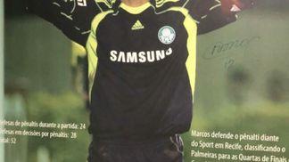 Após vestir camisa do Palmeiras 7164558be27ed