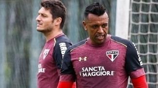 Sidão e Denis estão na disputa pela titularidade do gol são-paulino