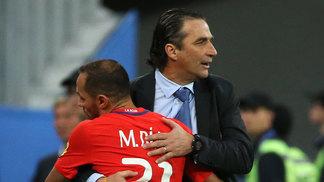 Juan Antonio Pizzi convocou a seleção chilena