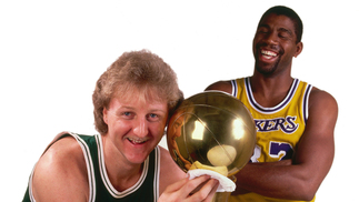 Larry Bird e Magic Johnson