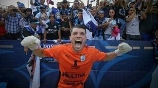 Tiago Volpi foi campeão pelo time mexicano
