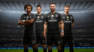 Real Madrid Camisa 4 Fifa 18 19/12/2017