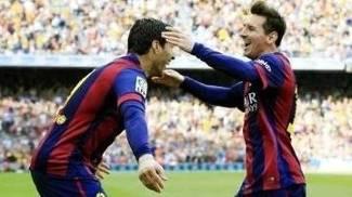 Parceiros no Barcelona, Messi e Suárez podem se juntar para ajudar