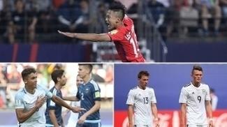 Mundial sub-20 começou com derrotas de Alemanha e Argentina e vitórias de Inglaterra e Coreia do Sul