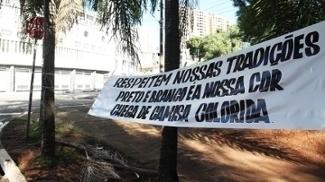 Ponte Preta Torcida Protesto Camisa Azul 20/03/2017