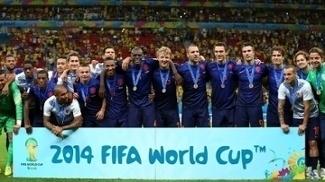 A Holanda foi a terceira colocada da Copa de 2014