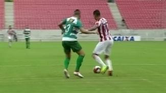 Náutico e Belo Jardim ficaram no 1 a 1