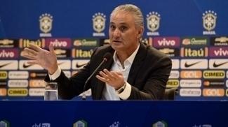 Técnico Tite durante a convocação para o amistoso entre Brasil e Colômbia