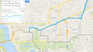 Recurso mostra altimetria do trajeto e, em alguns casos, sugere o caminho por ciclovias