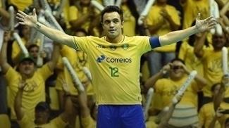 Falcão se despediu oficialmente da seleção brasileira de futsal