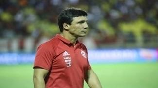 O técnico Zé Ricardo reconheceu que o Flamengo não foi bem contra o Atlético-GO