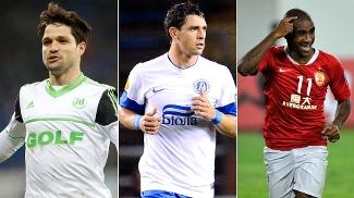 Diego, Giuliano ou Muriqui: qual foi o melhor brasileiro do último fim de semana? Vote!