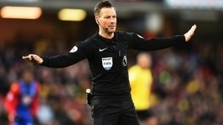 Mark Clattenburg Watford Crystal Palace Premier League 26/12/2016