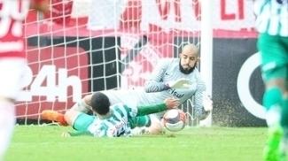 Danilo Fernandes fez grandes defesa diante do Juventude neste domingo