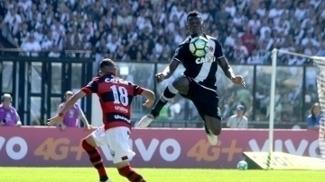 Paulão, durante confronto entre Vasco e Atlético-GO