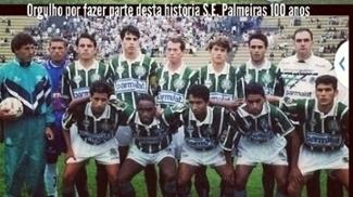 Rodrigo Costa nos tempos de Palmeiras
