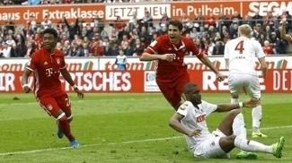 Javi Martínez marcou para o Bayern sobre o Colônia