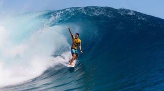 Gabriel Medina é o brasileiro com mais decisões no Taiti
