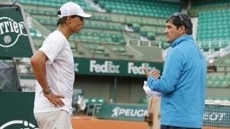Toni Nadal é tio e treinador de Rafael Nadal