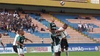 Em clássico sub-20 com torcida única, Corinthians e Palmeiras ficaram no empate