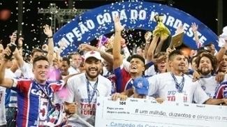 Bahia se sagrou campeão da Copa do Nordeste após 15 anos