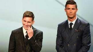 Messi e Cristiano Ronaldo concorrem prêmio de melhor de 2016/17 da Uefa