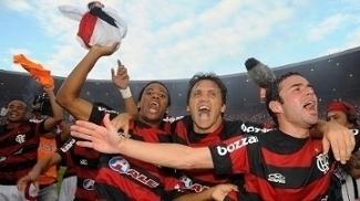 Bruno Mezenga Petkovic Juan Flamengo Futebol Campeonato Brasileiro Comemoram Título