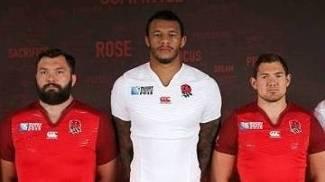 O novo uniforme da Canterbury para seleção da Inglaterra
