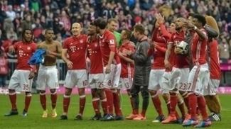 Bayern lidera a Bundesliga com 53 pontos