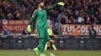 Alisson virou titular da Roma nesta temporada