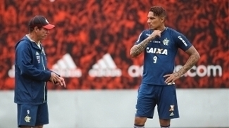 Flamengo foca nas bolas paradas em último treino antes da final contra o Fluminense