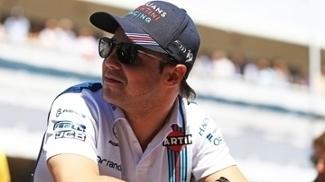 O brasileiro Felipe Massa durante treino nesta temporada