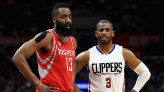 James Harden e Chris Paul vão formar dupla em Houston