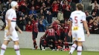 Atlético-PR venceu os três últimos jogos no Brasileirão