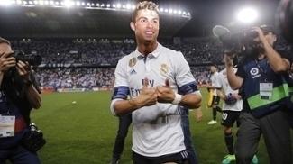 Cristiano Ronaldo Comemora Titulo Campeonato Espanhol Real Madrid 21/05/2017