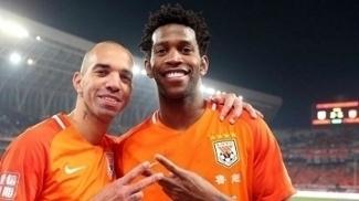 Gil e Tardelli fizeram gol na vitória do Shandong