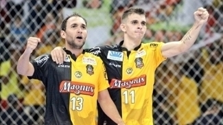 Magnus/Sorocaba comemora triunfo pela Liga Nacional de Futsal