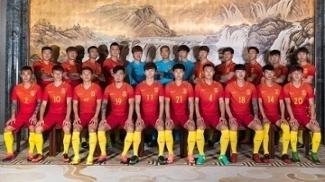 Jogadores da seleção chinesa: país não confia em classificação