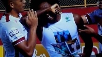 Guilherme Biteco fez gol, homenageou o irmão Matheus e chorou