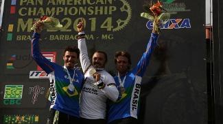 Dois brasileiros no pódio na prova de DH do Panamericano 2014