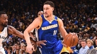 Klay Thompson comandou a vitória do Golden State Warriors sobre o Memphis Grizzlies