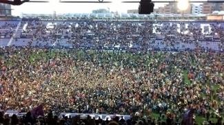 Granada cai para a 2ª divisão espanhola, e Levante volta à elite com invasão gigantesca