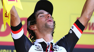 Michael Matthews foi o mais rápido no sprint final da 16ª etapa do Tour de France