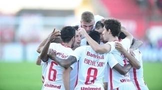 Fabinho fez o gol da vitória do Internacional