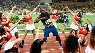 Bolt correu pela primeira abaixo dos 10