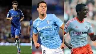 Hernanes, da Lazio, Oscar, do Chelsea, e Luiz Gustavo, do Bayern, qual deles foi o melhor?