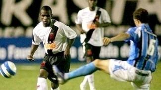 Thiago Maciel jogou quatro anos no Vasco