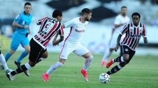 Santa Cruz empatou em 0 a 0 com o Internacional