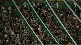 Torcida da Chape marcou presença na Arena Condá
